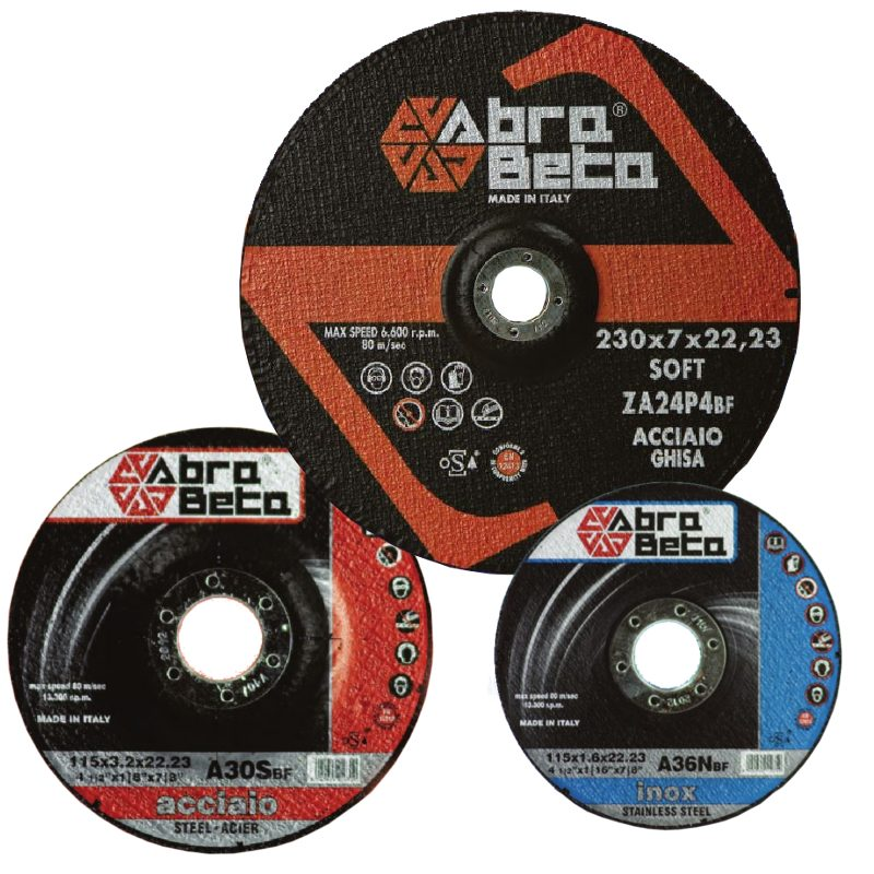 Abra beta cutting and grinding discs