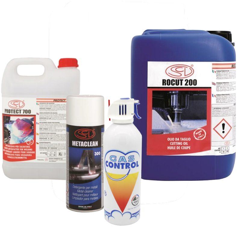 Bombolette spray e liquidi