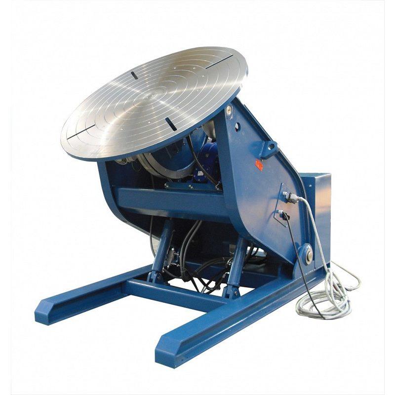 Posizionatori a tavola rotante elevabili con inclinazione motorizzata
