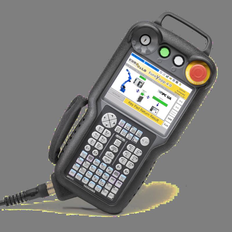 YRC1000 tastiera robot Yaskawa Motoman con EuroYapp per Industria 4.0